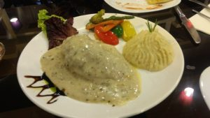 House Special Chicken Fillet And Char Grilled Veg with Mashed Potato